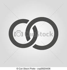 symbol of ring in wedding vectors of the united wedding ring icon marriage and glans symbol