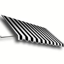 Beauty Mark Awnings Beauty Mark 6 Ft Houstonian Metal Standing Seam Awning 24 In H