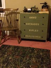 camouflage bedrooms boys camouflage bedroom dresser second grace vintage boys bedroom