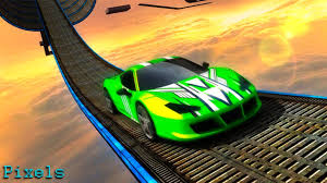 impossible stunt car tracks 3d all cars unlocked youtube