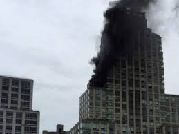 trump tower new york address fire breaks out at trump tower in new york the express tribune