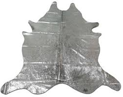 Silver Cowhide Rug Cow Hide Skin Rug E Just Perfect 18 Of 20 White Cowhide Rug Size