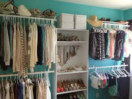 How To Organize Clothes Without A Closet Diy Turning A Spare Bedroom Into A Dressing Room On A Budget By