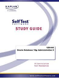 selftest 1z0 043 studyguide parameter computer programming sql
