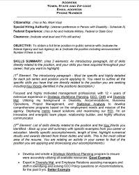 Military To Federal Resume Examples by 10 Federal Resume Templates Free Samples Pdf