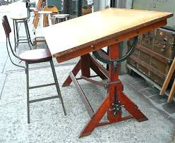 Antique Drafting Tables For Sale Vintage Drafting Table Vintage Drafting Table And Stool By For For