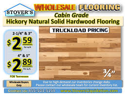 hickory solid hardwood flooring cabin grade stover s liquidation