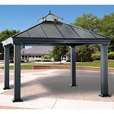 15 X 15 Metal Gazebo by Gazebos U0026 Sun Shelters Costco