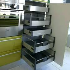 tiroir interieur placard cuisine rangement interieur meuble cuisine amenagement meuble cuisine