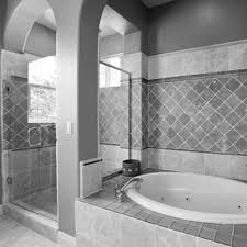 Bathroom Floor Tile Ideas For Small Bathrooms by Bathroom Floor Tile Ideas White Penny Tile With Dark Gray Grout