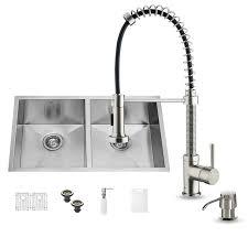 Soap Dispensers For Kitchen Sink by Vigo 32 Inch Undermount Single Bowl 16 Gauge Stainless Steel