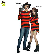 new arrivals freddy killer costumes with claw halloween costume