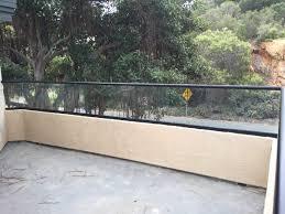 patio glass railing del mar patriot glass and mirror san