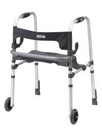 senior walkers with wheels ls clever lite 5 wheeled walker