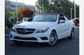 mercedes e class convertible for sale used 2015 mercedes e class convertible pricing for sale