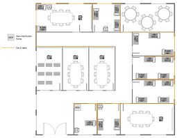 Floor Plan Com by Network Layout Floor Plans Solution Conceptdraw Com
