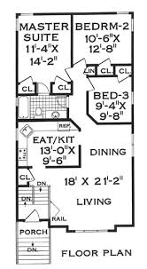 house plans for narrow lot narrow lot country home 5806 5 bedrooms and 2 5 baths the