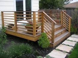 Back Porch Stairs Design Back Porch Deck Designs