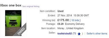 ebay black friday black friday fail someone bought an xbox one box for 275 on ebay