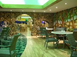 jungle theme decorations cafe interior in jungle theme decosee