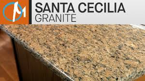 santa cecilia granite kitchen countertops iv marble com youtube