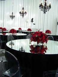 wedding red and black theme ideas wedding decor theme