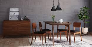 buy bristol dining table u0026 4 mokuzai dining chairs online in