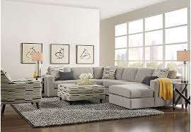 livingroom calgary calgary heights beige 5 pc sectional living room living room sets