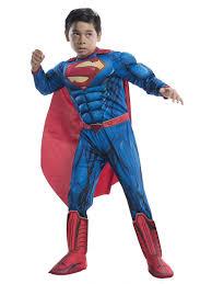 deluxe superman costume for children wholesale halloween costumes