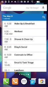 widget android microsoft update outlook for android with improved agenda widget