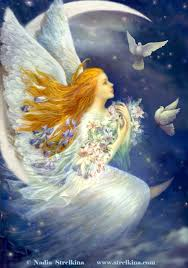 angel with pigeons by fantasy fairy angel on deviantart