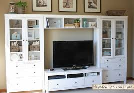 Home Center Decor by Accessorized White Entertainment Center Hemnes Tv Stands And