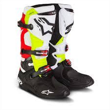 mx motorbike boots boots tech mx motorcycle boot eli tomac redwhiteblack maciag