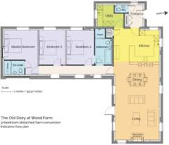 Barn Conversion Floor Plans 3 Bedroom Barn Conversion For Sale In Wood Farm Myddlewood
