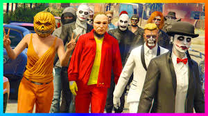 rare halloween mask gta 5 dlc ultimate halloween 2016 party rare gta online scary