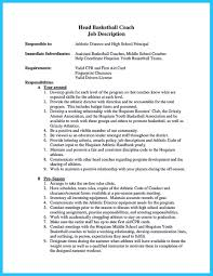 Tennis Coach Resume Sample Head Athletic Trainer Cover Letter