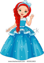 beautiful clipart blue princess pencil color beautiful
