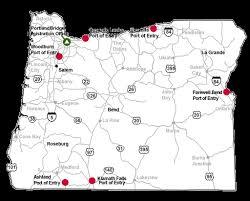 map of oregon i 5 oregon dot trucking center tripcheck oregon traveler information