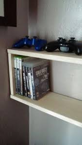 Gamingshrines A Place To Submit Your Gaming Setup by Video Game Console Shelves With Colored Lighting Via Reddit User