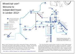 London Subway Map by 2012 Wheelchair Accessible Tube Map For London London