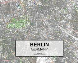 Berlin Germany Map by Berlin Germany Download Cad Map City In Dwg Ready To Use In