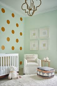 Nursery Side Table Mint Green Wall With Mint Blue Walls Nursery Transitional And