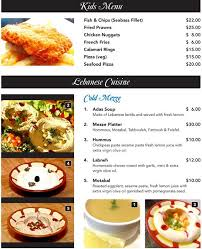 rida la cuisine le rida menu menu for le rida bukit panjang singapore zomato