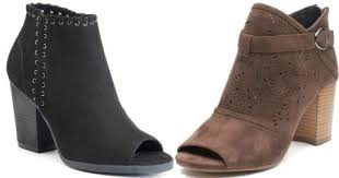 So Ankle Boots Kohl U0027s Cardholders Women U0027s Ankle Boots Just 17 50 Shipped Reg