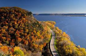 wisconsin scenic drives map best road trips for fall foliage in wisconsin the bobber