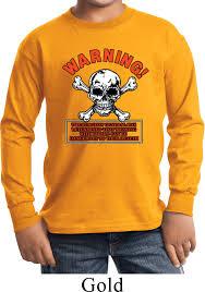 kids halloween t shirts kids biker shirt warning biker sleeve tee t shirt warning biker
