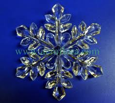 acrylic ornament artificial flowers decorations