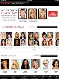 instyle hairstyle try on app fade haircut