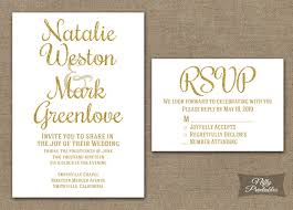 wedding invitations gold and white gold glitter white wedding invitations nifty printables
