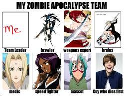 My Zombie Apocalypse Team Meme Creator - how prepared are you for zombie apocalypse playbuzz